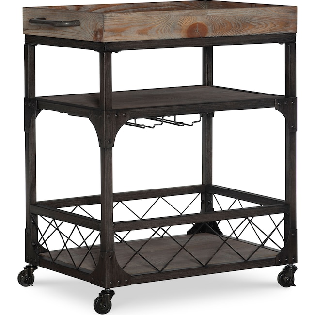 Accent and Occasional Furniture - Judge Bar Cart