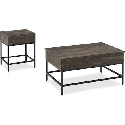 Kaplan Coffee Table and End Table Set