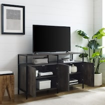 kaplan dark brown tv stand