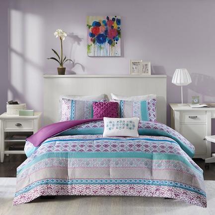 Karlie Twin/Twin XL Comforter Set