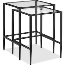 keen black nesting tables