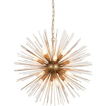 kepler gold chandelier