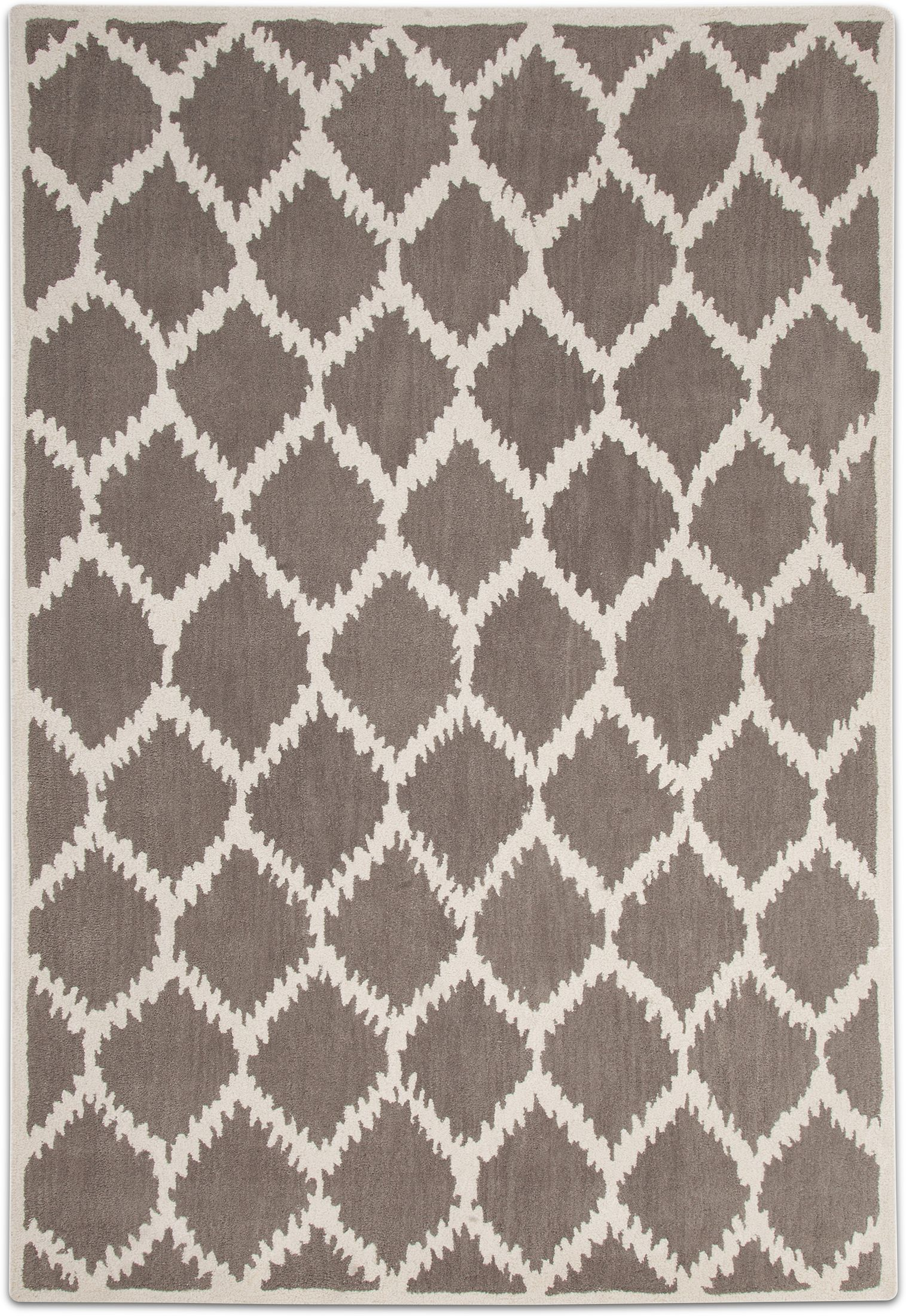 Rugs - Lifestyle Kimble Area Rug - Gray and Ivory