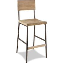 knox brown bar stool