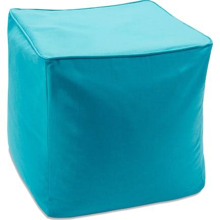 Koa Outdoor Pouf - Blue