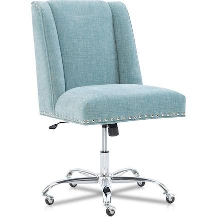 Lainey Office Chair - Aqua