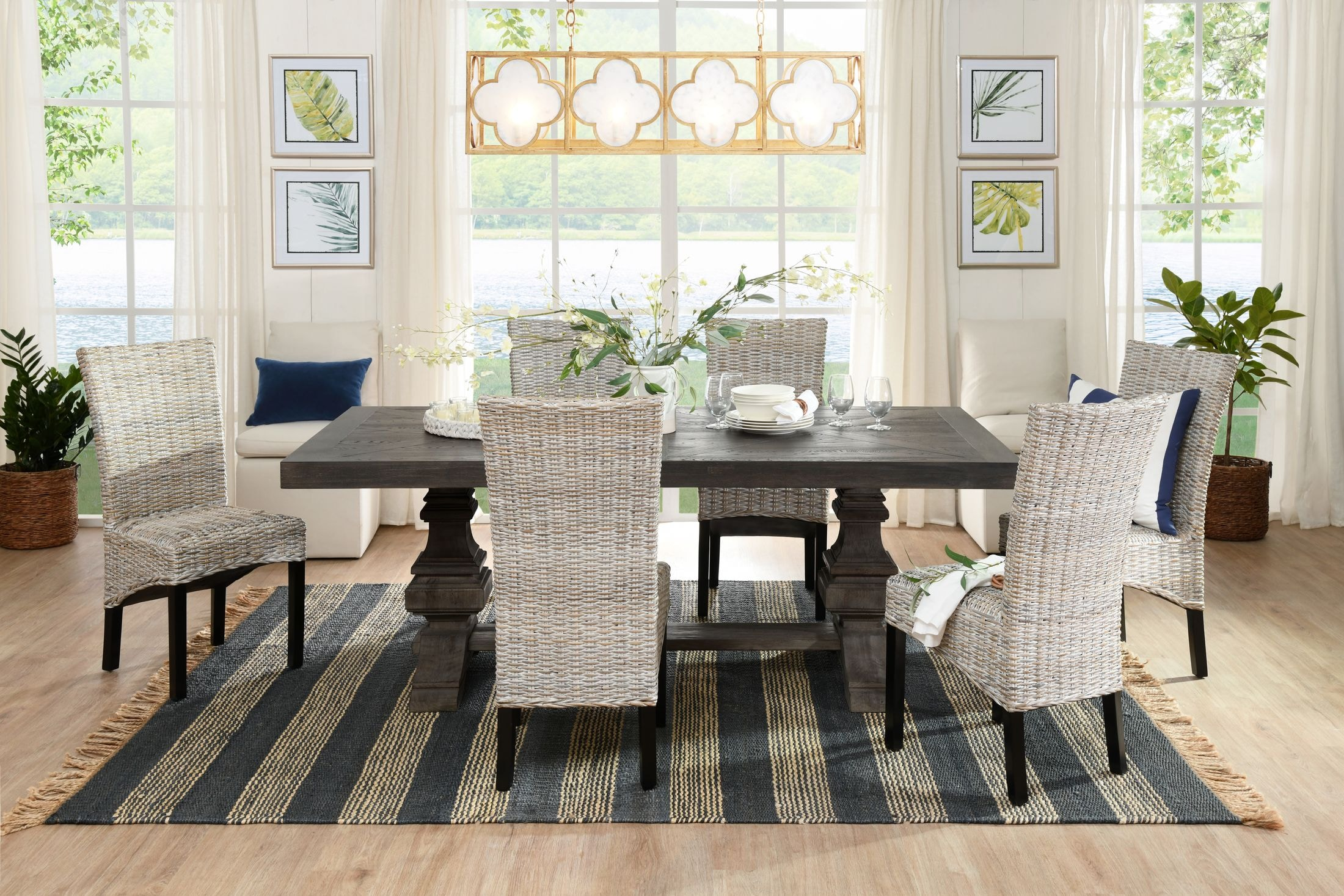 The Lancaster Dining Collection Value City Furniture And Mattresses