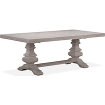 lancaster gray dining table