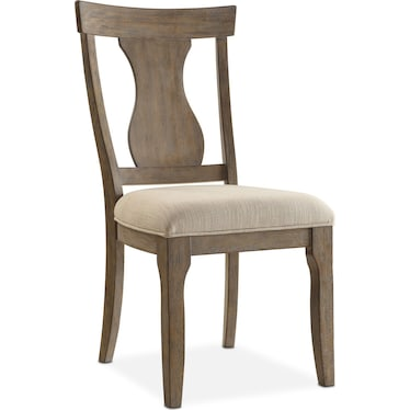 Lancaster Splat-Back Chair - Parchment