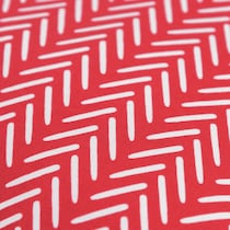 lani red outdoor pillow