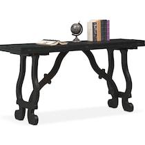 layne black sofa table