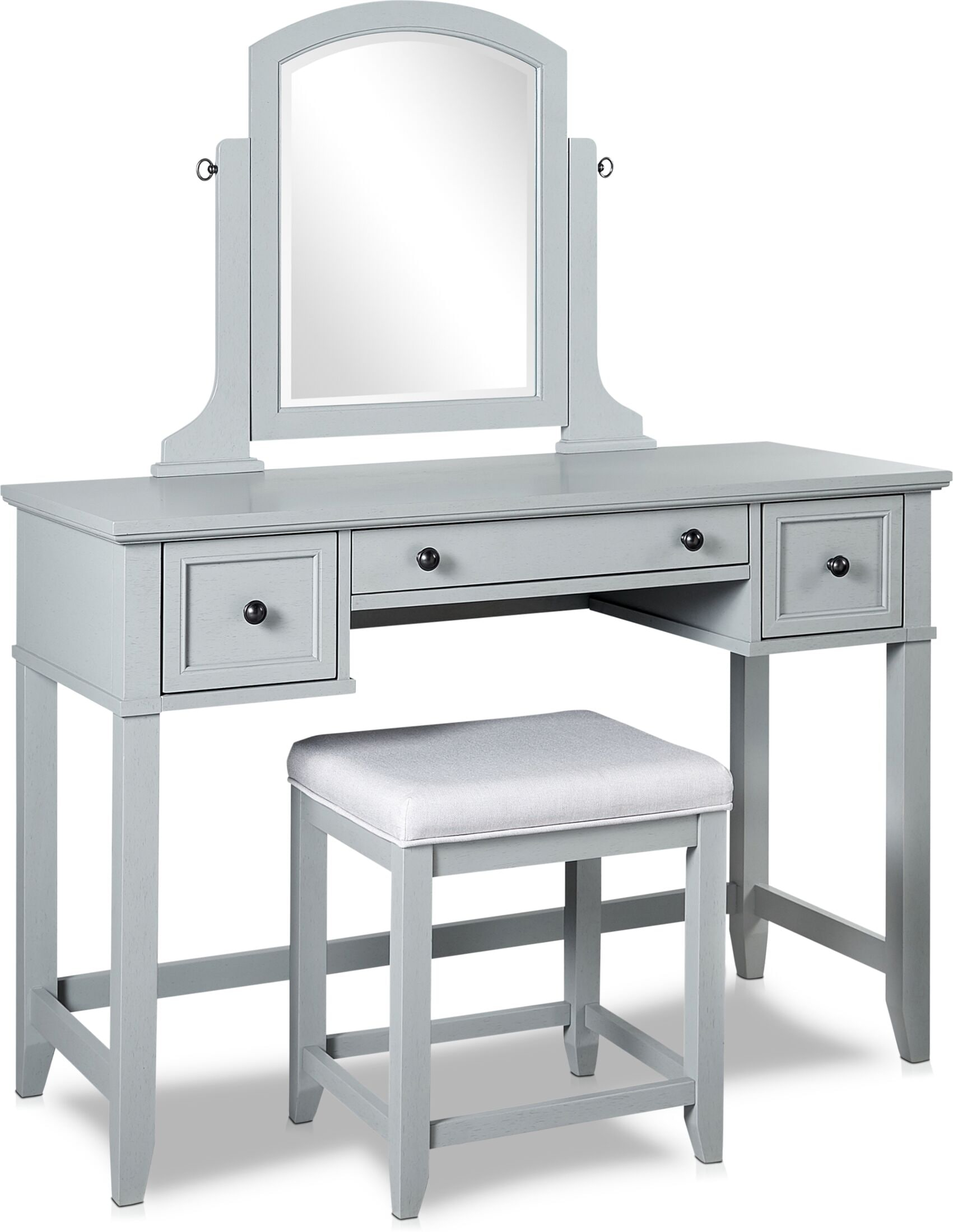 Accent and Occasional Furniture - Leia Vanity and Stool