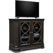 lennon black tv stand