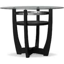 lennox dark brown dining table