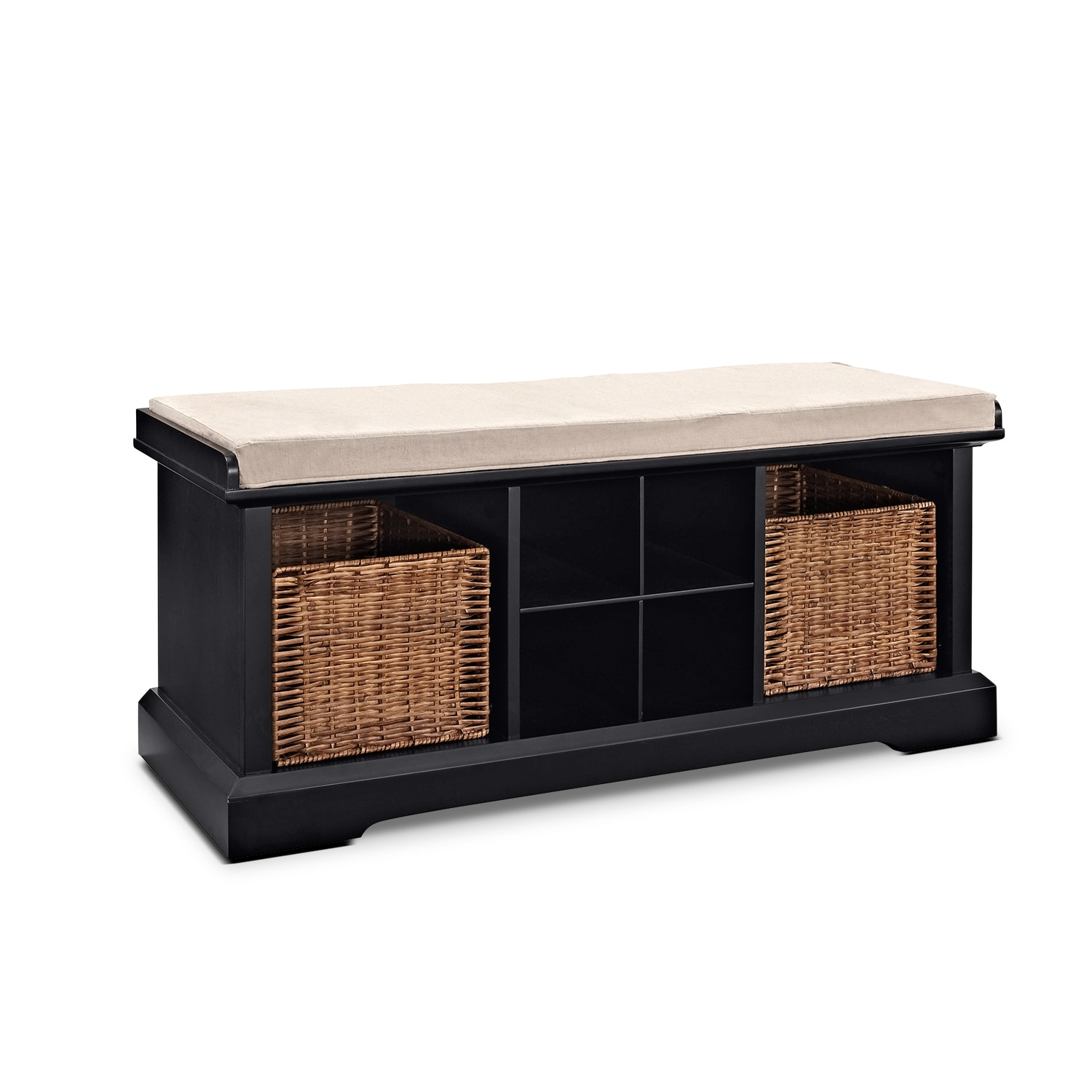 Accent and Occasional Furniture - Levi Entryway Storage Bench