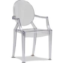 lillian neutral arm chair