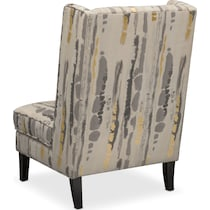 limelight gray accent chair