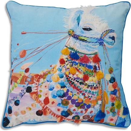 Llama Side Eye Pillow