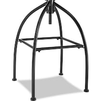 logan light brown bar stool