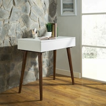 lorain white desk