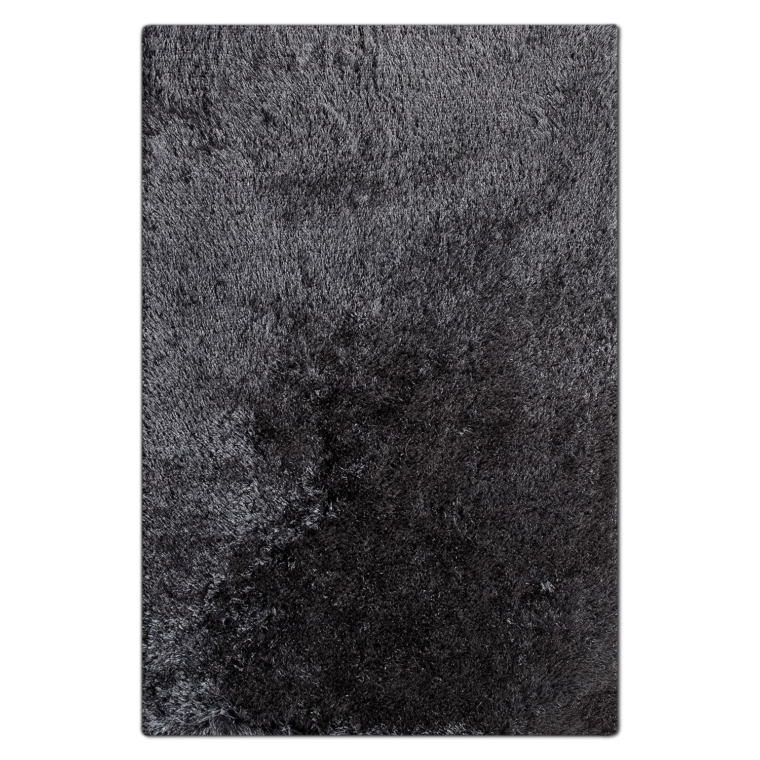 Rugs - Luxe 5' x 8' Area Rug - Charcoal