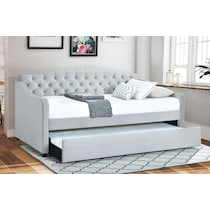 lydia gray twin daybed with trundle