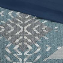 lyndon blue full queen bedding set