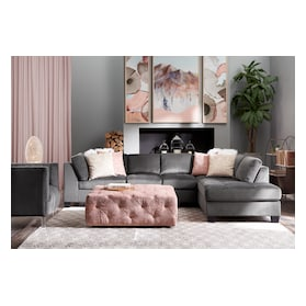 Mackenzie 2-Piece Sectional and Ottoman