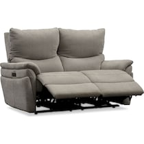 maddox gray  pc power reclining living room
