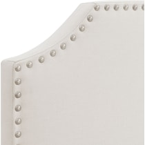 maeve white queen upholstered bed