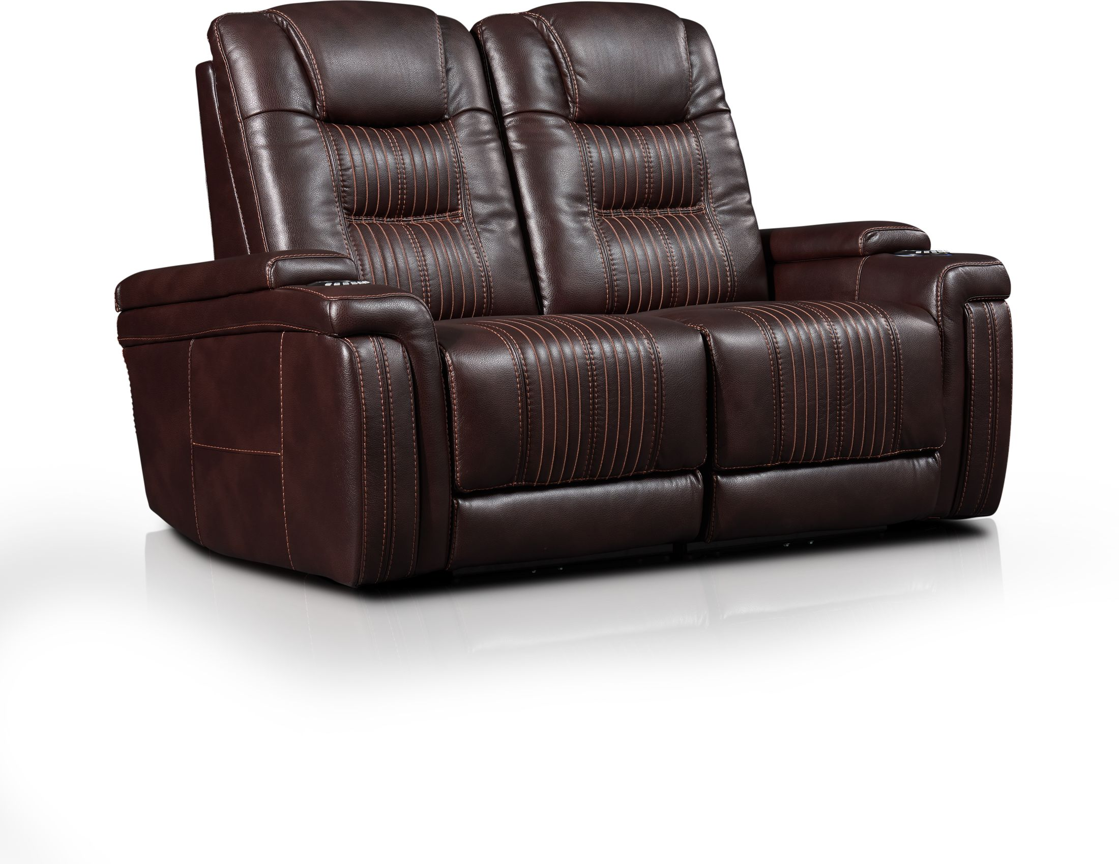 Living Room Furniture - Magnus 2-Piece Triple-Power Reclining Sofa