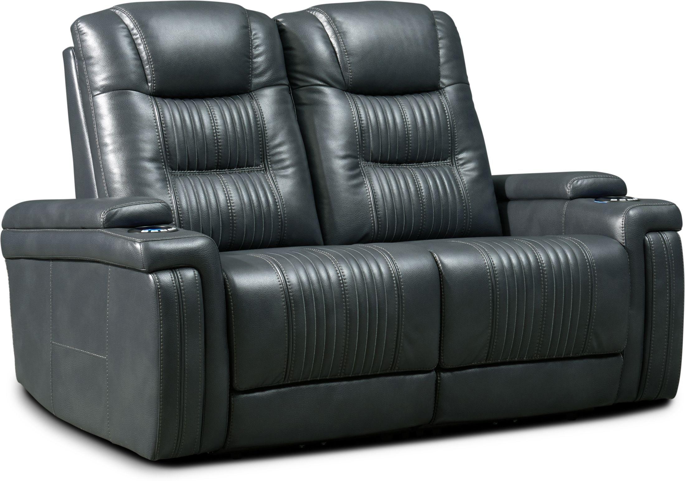 Living Room Furniture - Magnus 2-Piece Triple-Power Reclining Sofa