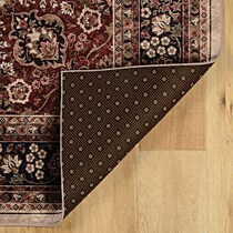makalu cream rust area rug ' x '