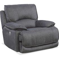 mario power gray power recliner