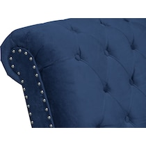 marisol blue armless chair