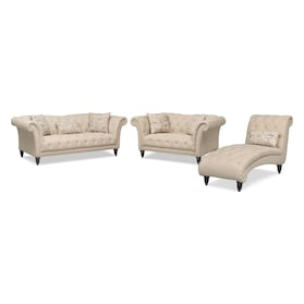 Marisol Sofa, Loveseat and Chaise