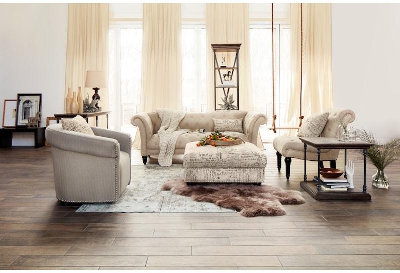 marisol light brown armless chair