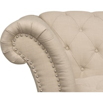 marisol light brown loveseat