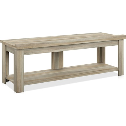 Mavis TV Stand - Natural Oak