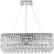 maxime glass chandelier