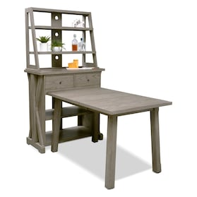 Maxton Counter-Height Dining Table with Media Hutch