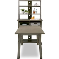 maxton gray  pc counter height dining room