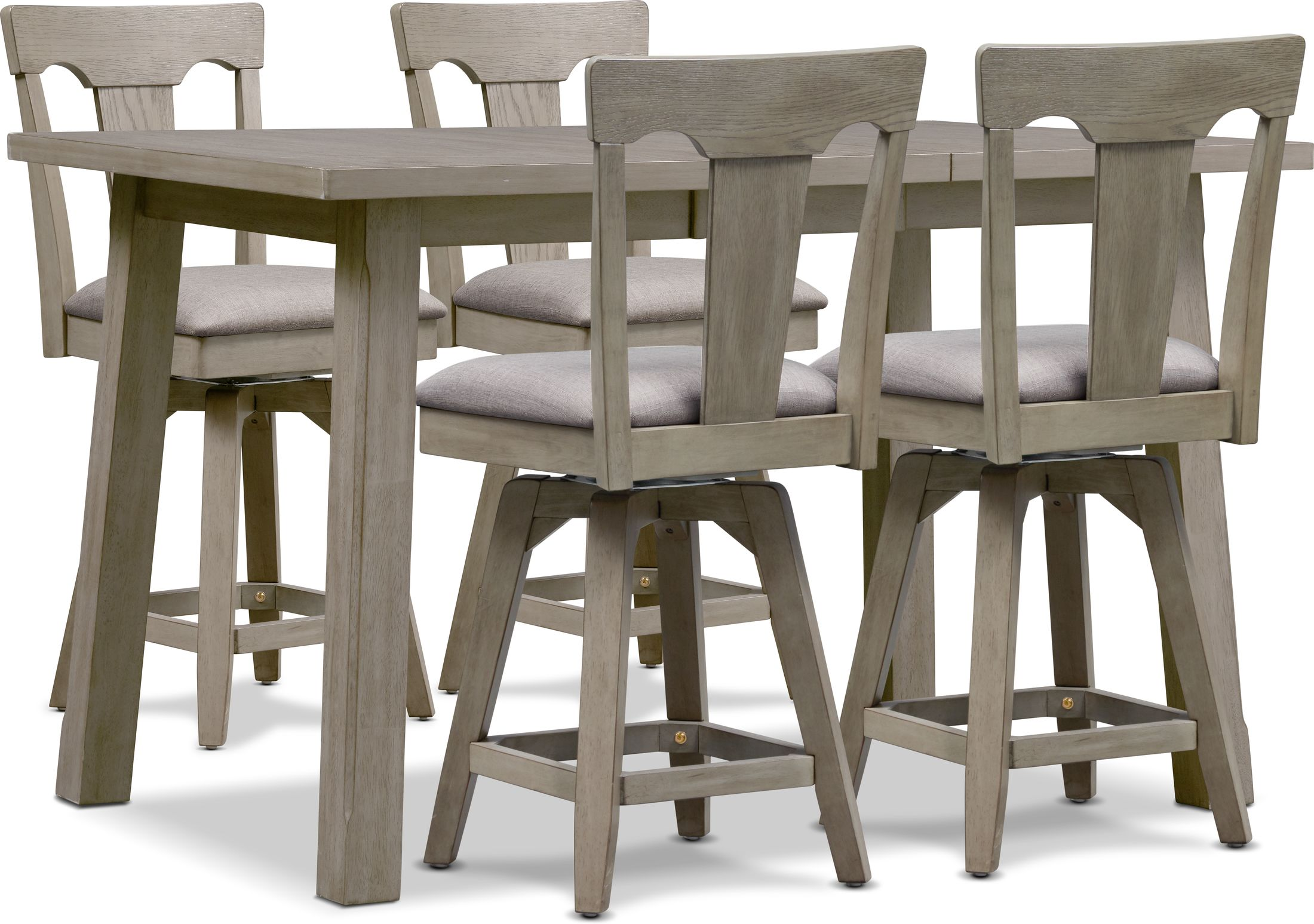 Dining Room Furniture - Maxton Counter-Height Dining Table and 4 Stools