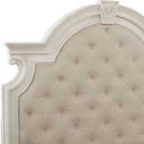 mayfair white queen storage bed