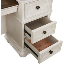 mayfair white vanity