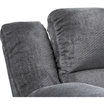 mellow gray  pc power reclining living room