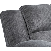 mellow gray  pc power reclining sectional