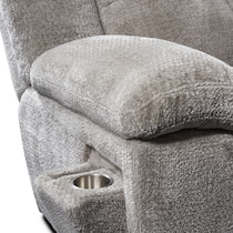 mellow gray  pc sectional