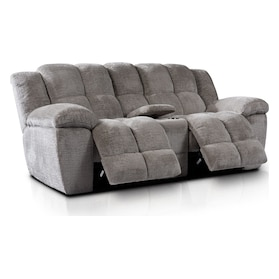 Mellow Manual Reclining Loveseat - Stone