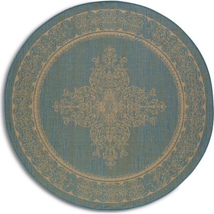 Melody Indoor/Outdoor 8' Round - Blue